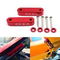 자동차 빌렛 알루미늄 레이싱 후드 벤트 스페이서 Risers Honda Civic 92-95에 대한 펜더 세탁기 예 : Acura Integrata 용 EG / 96-00 EK
