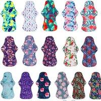 [Simfamily] 10 pcs orgânico bambu carvão lavável higiene pads higiene de fluxo pesado almofadas sanitárias lady pad pad reusável almofadas 988 x2
