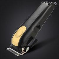 8148 Magic Clip Metal Pelo Clipper Razor eléctrico Hombres Steel Head Shaver Trimmer Negro Oro rojo 2 Color