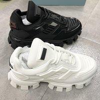 Marque Mens Cloudbust Thunder Sneakers Sneakers Chaussures Platform 19fw Capsule Série Camouflage Noir Styliste Chaussures à lacets Formateurs de coureurs en caoutchouc