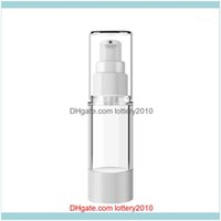 Bottles Jars Storage Housekeeping Organization Home & Gardenlotion Transparent Empty Vessel Toilet Vacuum Flat Mouth Cosmetic Mist Spray Pum