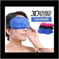 3D 자연 잠자는 아이 셰이드 커버 그늘 패치 부드러운 여성 남성 휴대용 눈가리개 여행 Eyepatch NW3ac 마스크 YUS9U
