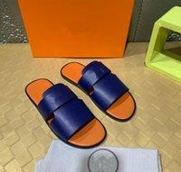 Original Marca de alta calidad Mules Woody Slipper 2022 Mujer Moda De Moda DeSegner Letras Cross Weave Lienzo Strap 9 Colores Playa Flip Flop Zapatos Sandalias