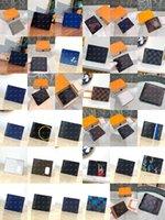 Designer di alta qualità-Portafogli corti portafogli Casual borse a goffratura Cuore Portafoglio in pelle con scatola Womens LuxuryWallets Holder Borsa Borsa M60895