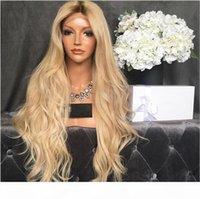 # 613 Meilleure blonde péruvienne Vierge Human Hair Perruques non traitées droites pleines de dentelle pleine dentelle de lace d'onde coiffée humaine haute qualité