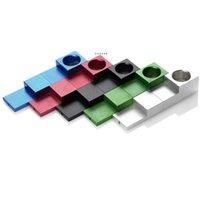 Magnetic Pieghevole Pipe di fumo Tubi per tabacco Tubi per schermo in metallo Tips Portabicchieri Accessori Accessori per sigarette Buon Commercio all'ingrosso creativo NHA5108