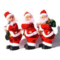 Shaking Hip Music Electric Santa Claus Toy Electric Shaking Buttock Santa Claus Christmas Decorations Xmas Kids Gifts CYZ2753 Sea Shipping