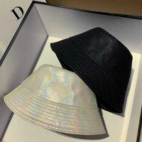 Kova Şapka Erkek ve Bayan Kap Geniş Ağız Şapka Casual Saf Pamuk Mektup Moda Sandy Beach Sun Caps 3 Renk