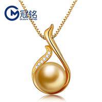 Guanming jóias de prata beizhu pingente 925 swan prata micro diamante colar senhora longa camisola cadeia