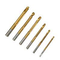 حفر بت المنتج الساخنة 6 في 1 عالية السرعة أداة الحفر الكهربائية مجموعة ل رقيقة سبائك الألومنيوم الخشب والبلاستيك GWF9145