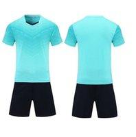 Leerer Fußball-Jersey-Uniform personalisierte Team-Shirts mit Shorts-gedruckten Design-Namen und Nummer 123678