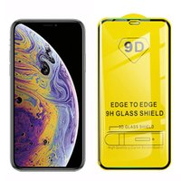 9D Full Cover Protection Tempered Glass Screen Protector Film For iPhone 6 7 8 6s plus x xr mini se 11 12 13 Pro Max