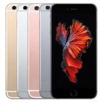 Reformado Original Apple iPhone 6S mais 5.5 polegada com impressão digital ios a9 dual núcleo 2GB 16/32/64 / 128GB ROM 12MP 4G LTE desbloqueado telefone celular inteligente DHL 5 pcs