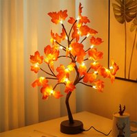Night Lights LED Fairy Light Copper Wire Tree Lamp For Home Decoration Creative Potted Shapes DIY Table Holiday Gifts All Ages