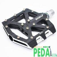 Bisiklet Pedalları Klasik SYUN-LP Ultralight DH MTB BMX Breafing Alaşım Platformu Bisiklet Pedalı Bicilete Parçaları
