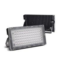 Luce di inondazione a LED all'aperto AC220V 50W IP66 Impianto di alluminio impermeabile Punto di illuminazione di illuminazione di illuminazione inondazioni Proiettori