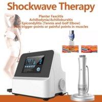 효과적인 충격파 기계 물리 치료 Shockwave 치료 extritional 목 어깨 통증 완화 마사지 관절염 몸을 슬리밍 CE