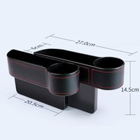 Car Organizer Left   Right Seat Crevice Gaps Storage Box Auto Drink For Pockets Organizers Stowing Tidying Universal Accessories