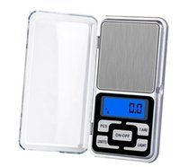 2021 Mini Electric Electronic Pocket Weight Scale 200g 0.01g 500g 0.1g Jewelry Diamond Scale Balance Scales LCD Display with Retail Package