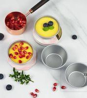 Яичные пирожные плесени для выпечки пресс-формы домашнего пирога выпечки печенье печенье пудинг прессформы алюминиевые сплава формы кухонные повторные дел DIY инструменты HWE8877