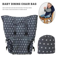 Chair Covers Portable Baby Seat Kids Travel Foldable Washable Infant Lunch Dinning Cover Saftety Belt Feeding High