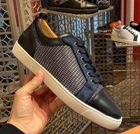Lüks Tasarımlar Paris Rahat Ayakkabı Kırmızı Alt Homme Sneakers erkek Genç Spike Orlatto Sneaker Erkek Açık Yürüyüş Flats Çiftin Elbise Parti Trainers EU35-47