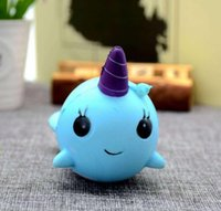 Unicorn Squishy Healing For Kids Slow Rising Finger Jumbo Doll Stretchy Whales Toy Animal Stress Toys Paste DJS Nnnhs