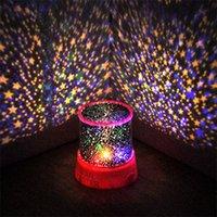 Romantic Sky Star Master Led Night Light Party Favore Projector Lamp Incredibile regalo di Natale GWA7609