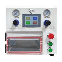 전동 공구 세트 TBK 라미네이터 OCA 라미네이션 108P 진공 라미네이팅 기계 지방 곡선 직선 및 태블릿 LCD 스크린 용