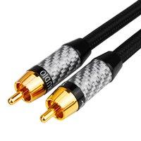 오디오 케이블 커넥터 YYTCG RCA ~ 3.5mm o 동축 케이블 75OHM 서브 우퍼 TV 5.1 SPDIF 1M