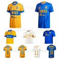 2021-22 Tigres UANL Soccer Jersey Home 11 Nico 2 Gonzalez 13 Reyes 10 Gignac 23 Quinones 3 Salcedo 19 Pizarro Football Commet