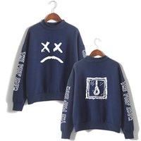 Lil Peep Толстовка с длинными рукавами Пуловер Toughsuit Anmumn Fleece Turtleneck Hip Hop Hoodie Lil Peep Pullover