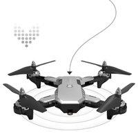 Leadingstar CS-7 2.4GHz G-capteur g pliable mini RC quadricocopter drone caméra HD WIFI FPV Altitude Tenir mode sans tête Drones RTF Drones