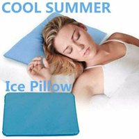 Pillow Sleeping Pad Piillow Mat Cooling Gel Muscle Relief Bed Stress Summer Chilled Natural Pillow#30