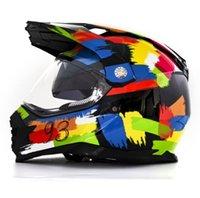 Мотоциклетные шлемы Легкий внедорожный шлем ATV транспортное средство Downhill Mountain Bike DH Racing Cross Capacetes Dot
