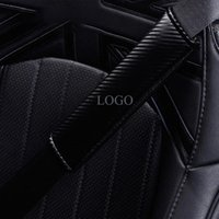 Safety Belts & Accessories A Pair Carbon Fiber Texture Car Seat Belt Cover For MINI Cooper R56 R55 R58 R59 R60 F54 F55 F56 F57 F60 Styling