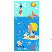Microfiber Beach Towels Super Soft Bath Pool Towel Quick Dry Absorbent Blanket For Kids Teens Adults Travel Gym Camping Pools Yoga DWD7635