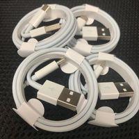 OEM 고품질 데이터 동기화 어댑터 충전기 USB 케이블 코드 와이어 1M 3FT 전화 7/8 Plus XS Max XR
