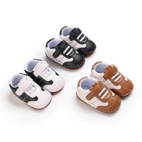 Baby Shoes First Walkers Newborn Shoe Girls Boys Sneakers Infant Footwear Moccasins Soft Toddler Wear Casual Spring Autumn Leather Sports 0-1T B8743