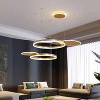 Pendant Lamps Modern Led Stone Lights Lustre Suspension Industrial Lamp Wall Moon Dining Rooom Bedroom