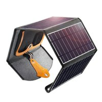 Caricabatterie per pannelli solari choetech, portatile da 22W Dual USB