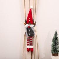 2022 Capodanno Abbraccio Abbraccio Decorazioni bambola senza volto per la casa Case di Natale Ornamenti Navidad Noel
