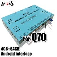 Auto-GPS-Zubehör 4GB PX6 LSAILT CARPLAY / Android-Videoschnittstelle mit YouTube, Netflix, Yanex, HDMI für Infiniti 2021- QX50 QX80 Q7