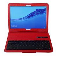 For Huawei Mediapad T5 c5 10.1inch Case+wireless Bluetooth Keyboard Cover Teclado Inalámbrico Keyboards