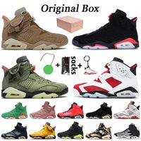 Nike Air Jordan 6 6s retro 6 Jumpman Travis Scott 6 6s cactus donne jack mens scarpe da basket Hare 6 DMP Infrared nero Oregon Ducks mens formatori scarpe da ginnastica