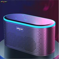DOSS SoundBox Touch Control Bluetooth Speaker Portable Wireless Loud Speakers 360 Degree Stereo Bass Sound Box Built-in Mic for Computer PC