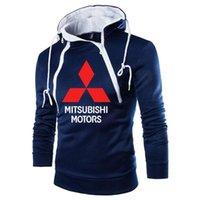 Men's Hoodies & Sweatshirts 2021 Men Mitsubishi Motors Bros Printed Spring Autumn High Quality Cotton Casual Sportswear E