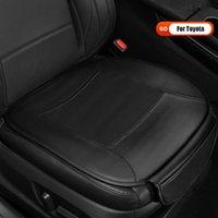 Cojín de asiento de automóvil para Toyota Logo Camry Avalon Highlander Corolla Ralink RAV4 Auto Parts Comfort Luxury Nappa Cuero SeatS