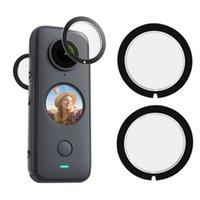 Guardie per lenti Adattatori Cap Protegra per la copertura del corpo per INSTA 360 One X2 Adesivo Panoramico Azione Panoramica Azione Sport Accessori Accessori