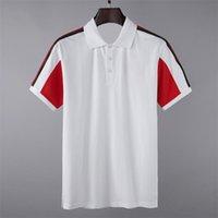 Chemise Summer Street Street Wear Europe Fashion Hommes de haute qualité Coton Tshirt Coton Casual Sleeve # 6801